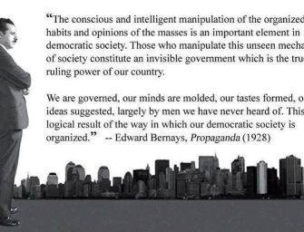 He Was the Father of Modern Mind Control & Propaganda for the Ruling Elite