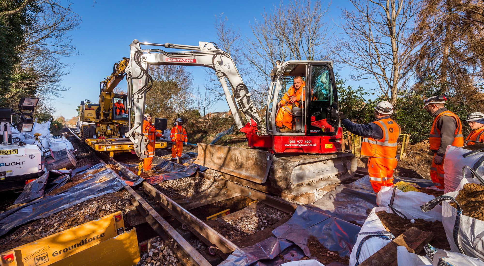 Construction Ltd Uk Rail Infrastructure Contractor Global Infrastructure Group