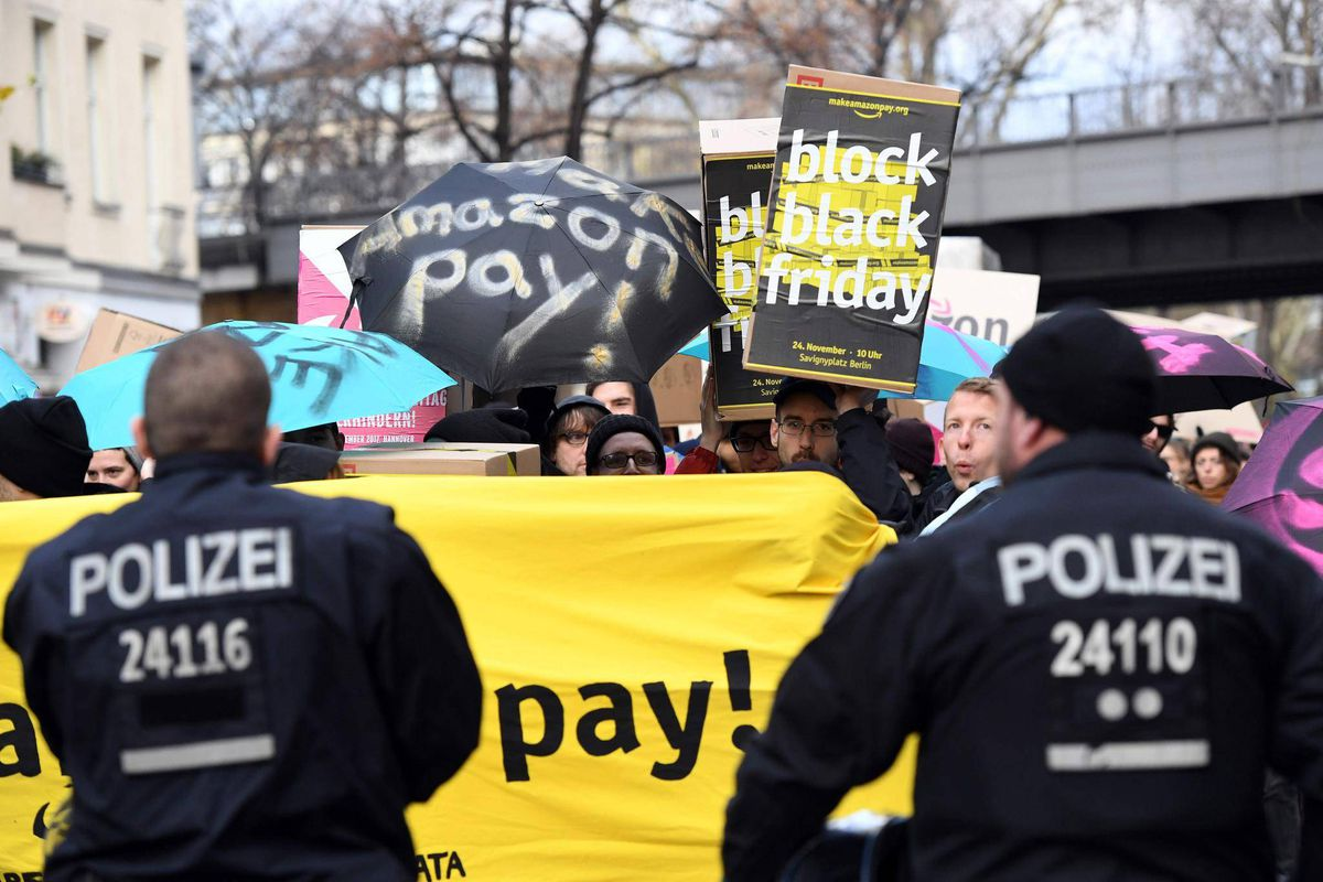 Black Friday Germany Amazon Workers In Germany Italy Stage Black Friday Strike