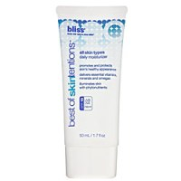 bliss best of skintentions daily moisturizer spf 15