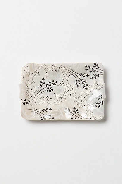 anthropologie sweet pea soap dish