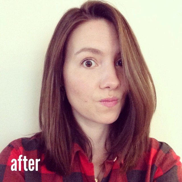lara ramos hair cuttery after