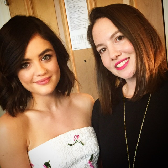 lucy hale and lara ramos
