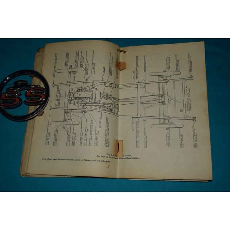 Original 1926 Chevrolet Superior Owners manual
