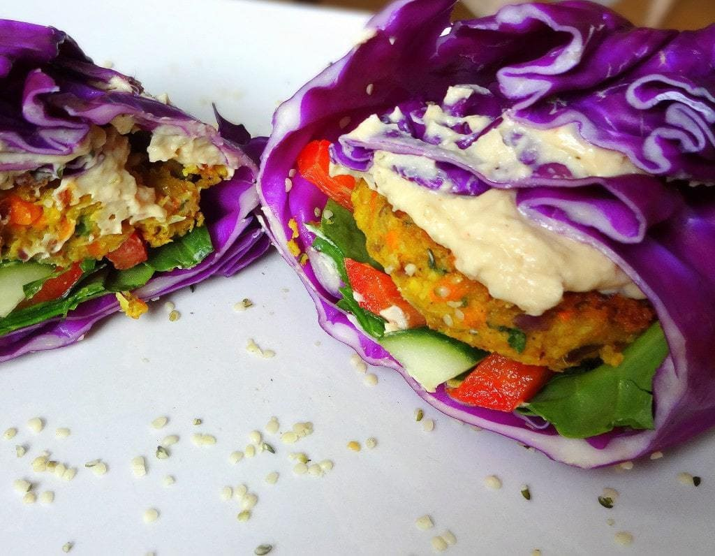 High Carb Vegan Low Fat Vegan Falafel Recipe The Glowing Fridge