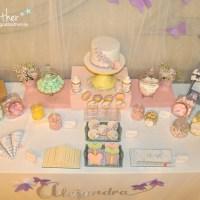 la 1ª comunión de Alejandra, la coleccionista de mariposas
