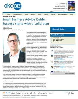 OKC Biz Small Business Advice Guide: Success starts with a solid plan