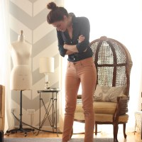 Tuesday Tips DIY : Take Corduroy Pants from Fall to Spring