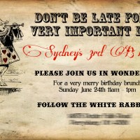 Sydney's Alice in Wonderland Birthday Party