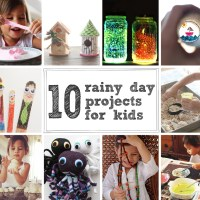 10 Rainy Day Projects For Kids