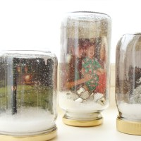 Waterless Snow Globes with Photos