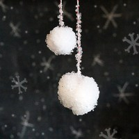 How to Make Borax Crystal Snowballs