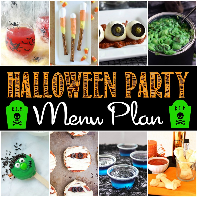 Halloween Party Menu Plan! \u2022 The Gold Lining Girl