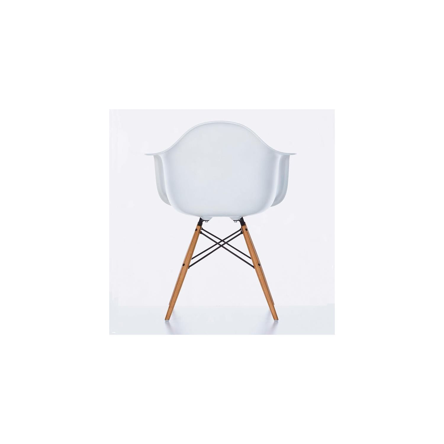 Fauteuil Eames Fauteuil Eames Plastic Arm Chair Daw Blanc The Good
