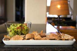 Majestic Pita Chips A Healthy Alternative To Holiday This Is Such An Easy Always Know That Deprivation Is Never A Good Homemade Guacamole Tasty Healthy Healthy Can Always