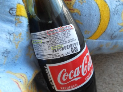 Mexican Coke Ingre Nts