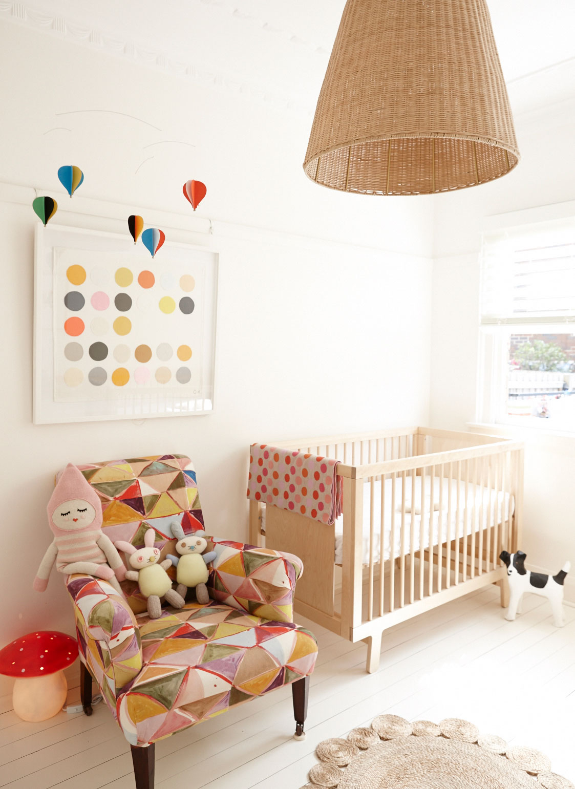 Natural Timber Cot The Nursery Edit Inspiration Essentials From The Paradise