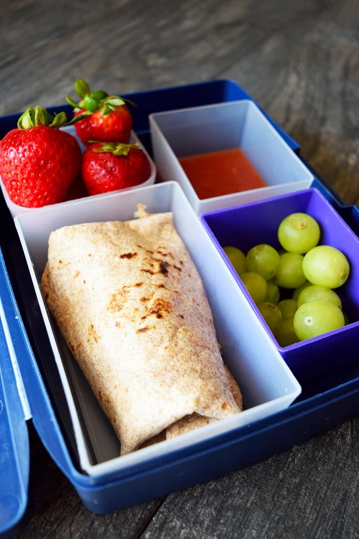 Lunch In A Box Clean Eating Lunch Box Burritos Recipe