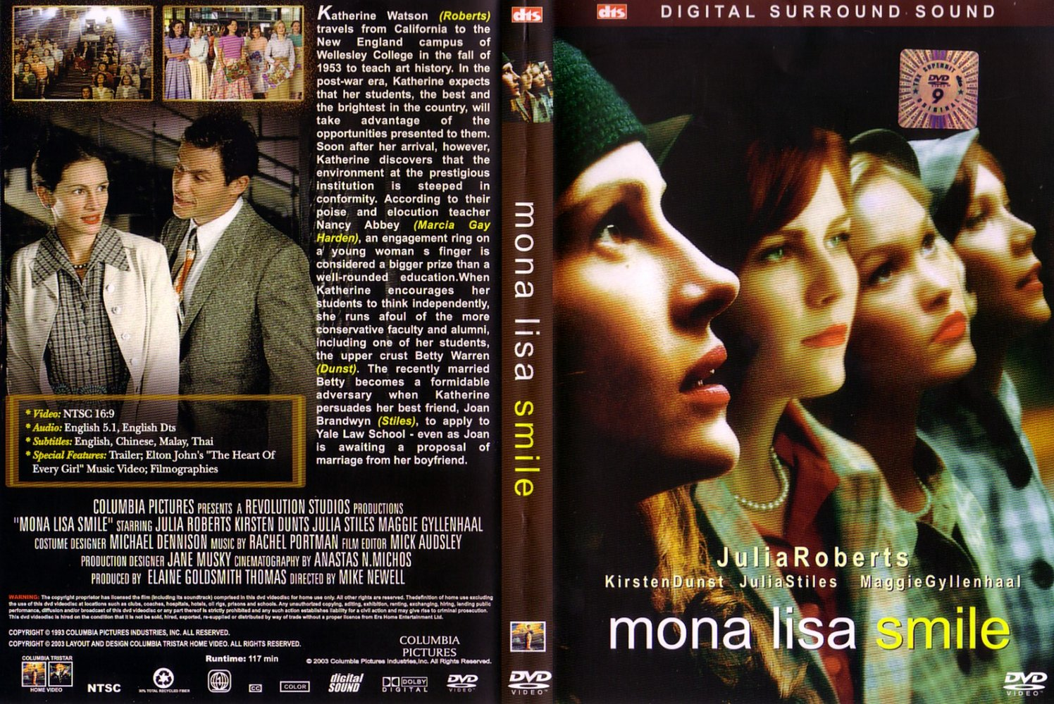Mona Lisa Smile U S Guest Lecture Boston November 12th The Grand Narrative