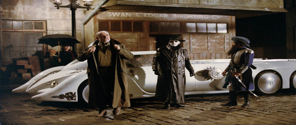 Still from The League of Extraordinary Gentlemen. For further information please contact your local Twentieth Century Fox Press Office.