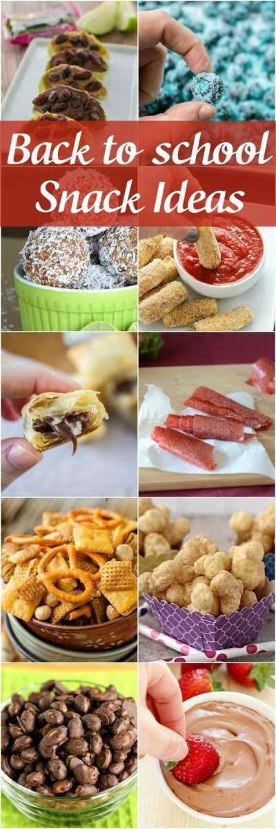 30+ Back to School Easy Snack Ideas - Yummy Healthy Easy