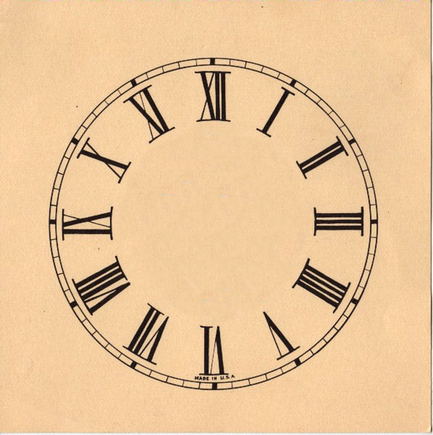 Oval Clock Face 11 Clock Face Images Print Your Own The Graphics Fairy