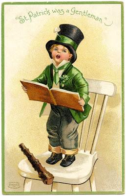 Pot Girl Wallpaper Vintage St Patrick S Day Image Cute Little Boy The