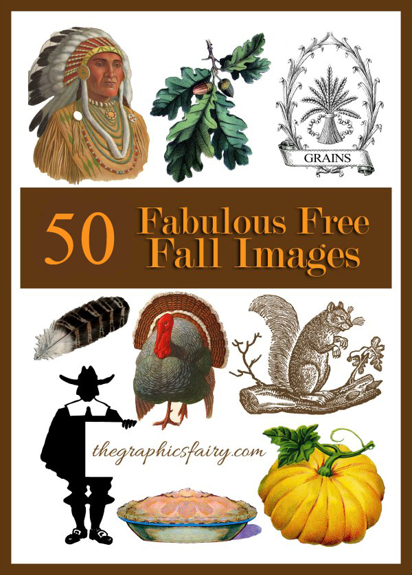 50+ Free Vintage Fall Images - The Graphics Fairy