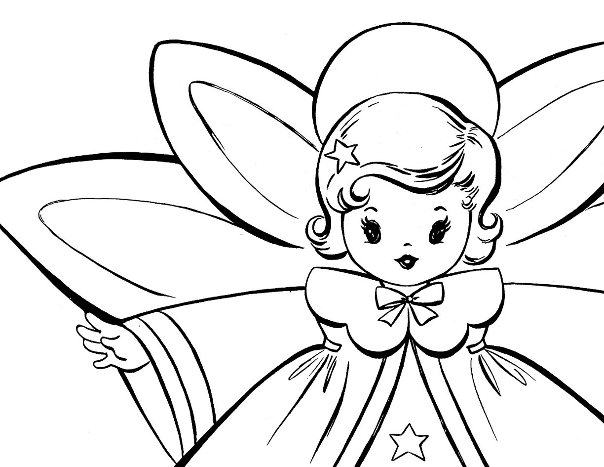 Coloring Pages Angels 10 Download