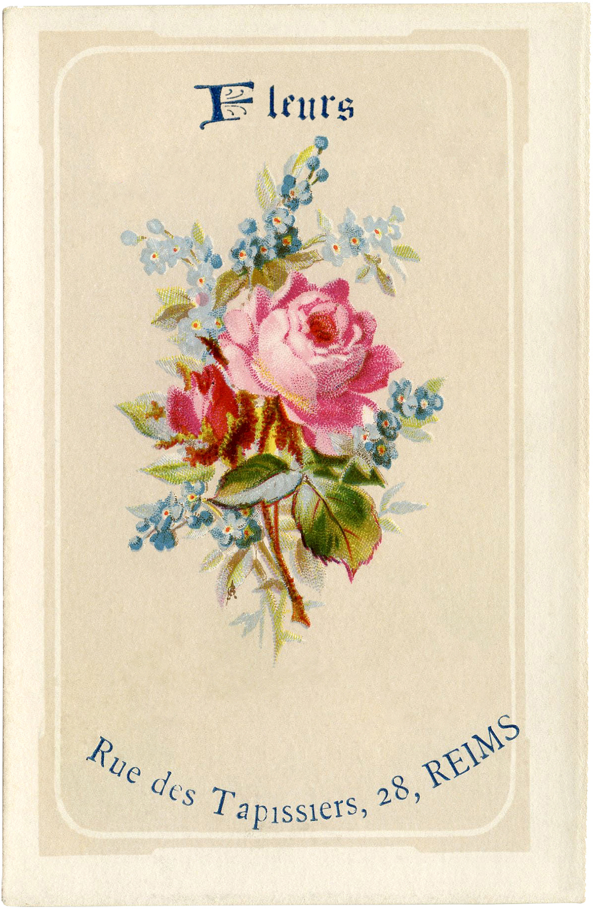 Fkeurs Lovely French Fleurs Image The Graphics Fairy