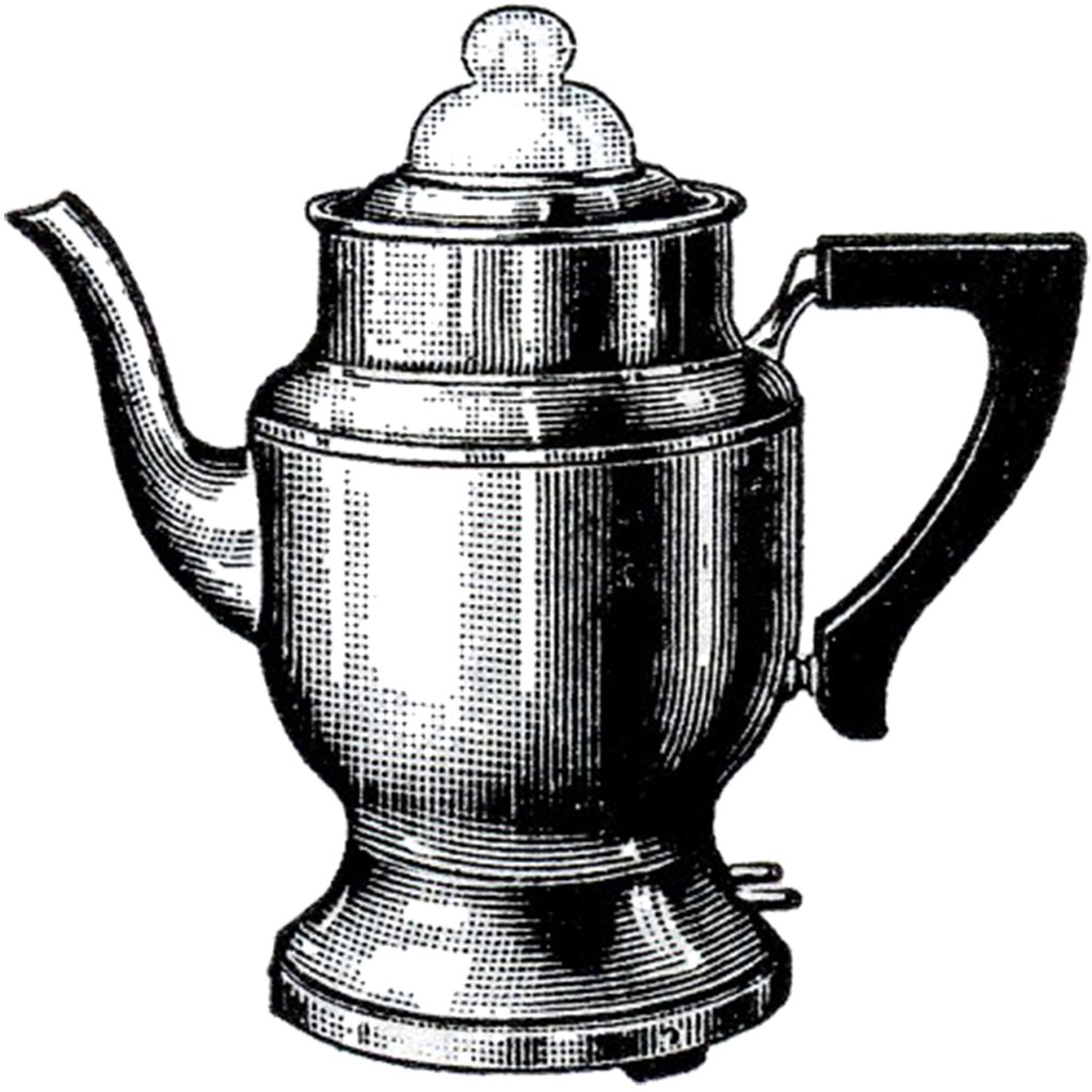 Free Clip Art Coffee Urn Vintage Coffee Pot Image The Graphics Fairy