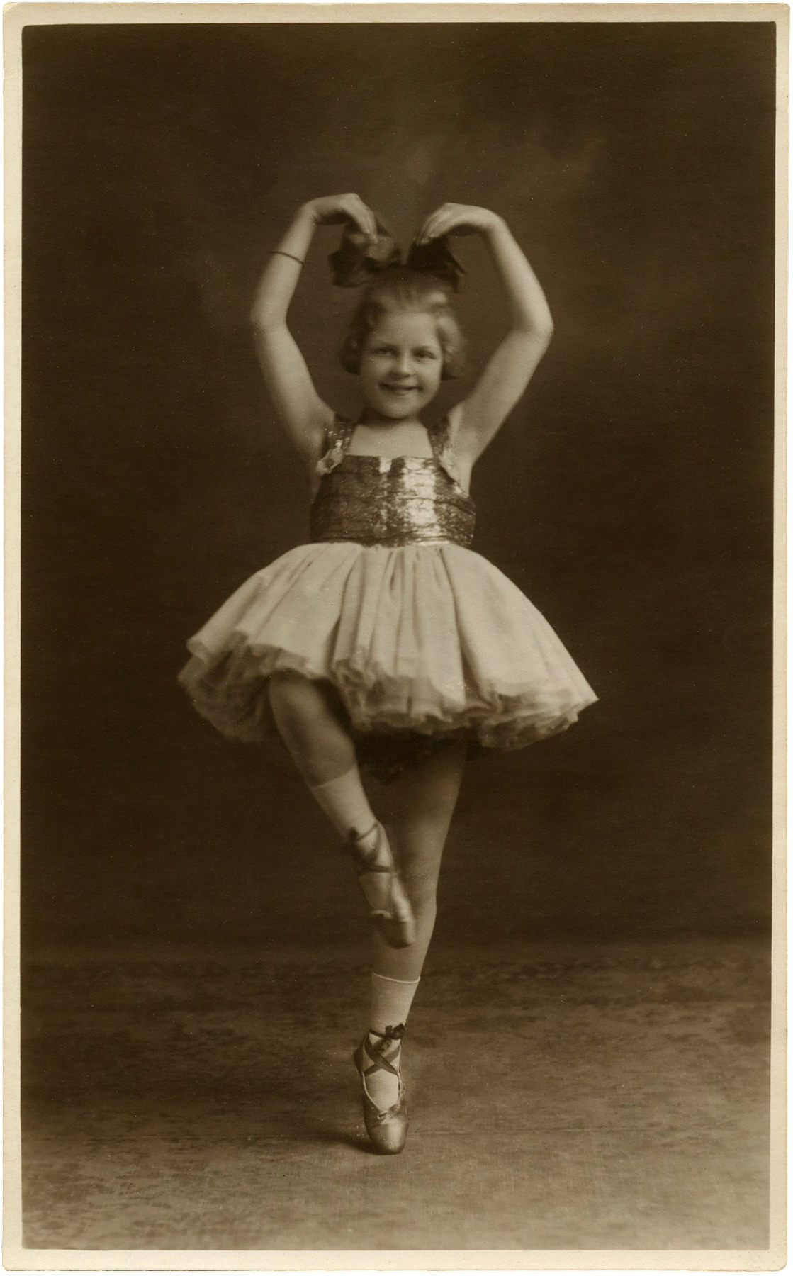 Cute St Patricks Day Wallpaper Vintage Ballerina Child Photo Adorable The Graphics Fairy