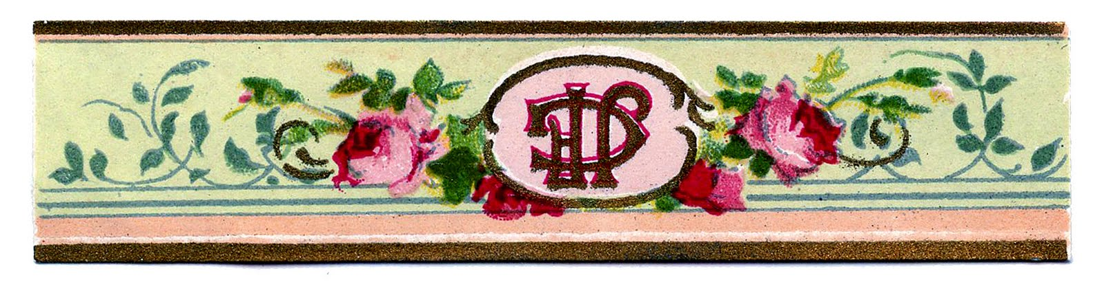 Vintage Graphic - French Soap or Perfume Label - Rose - The Graphics
