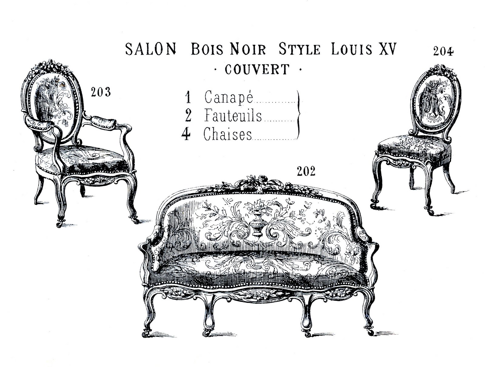 Butaca Dwg Victorian Clip Art French Furniture Paris Label The