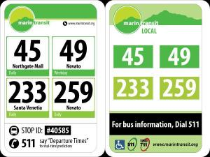 Proposed Marin Transit signage a step forward