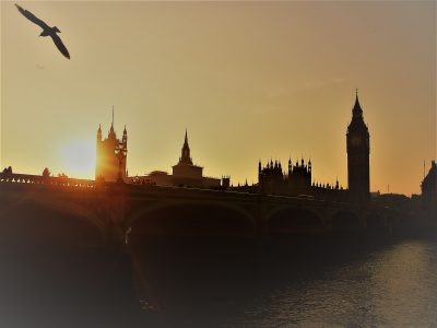 """Big Ben sunset"""
