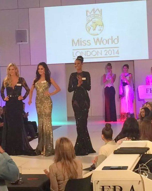 Top 3 for Best Designer Dress Award