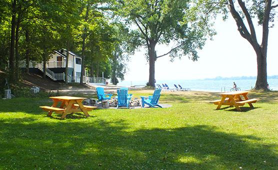 Sandbanks Summer Village Cottages Prince Edward County