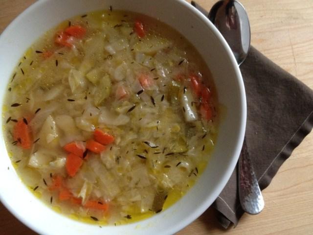 cabbage soup / λαχανόσουπα
