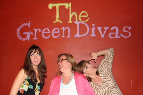 Green Divas Meg, Mizar & Gina @GreendivaStudio
