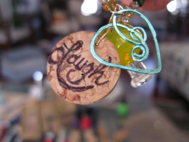 creative DIY cork tags for wine glasses
