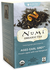 numi aged early grey tea box image