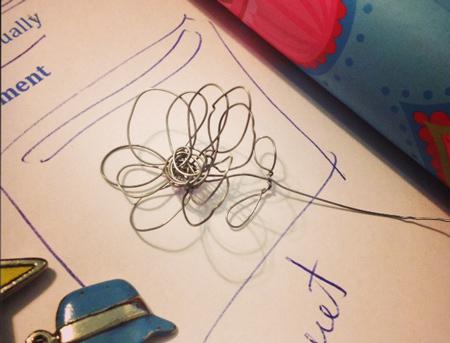 green diva mizar's wire flower