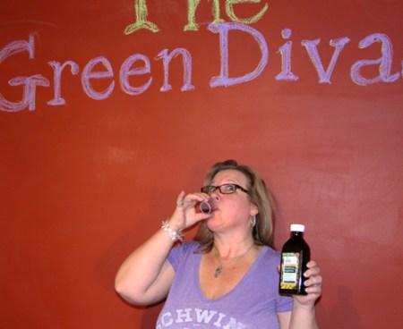 Green Diva Meg using Gaia PlantForce Liquid Iron