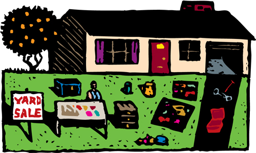 garage sale image