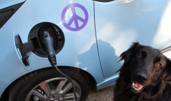 Green Diva Gracie and the Chevy Spark EV