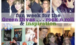 green divas fun week collage 10.31.13
