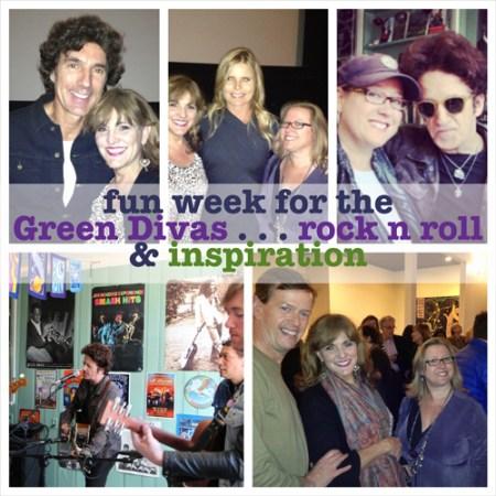 green divas fun week collage 10.31.13