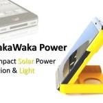 waka waka solar charger and light