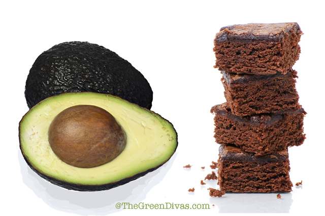 green diva meg's avocado brownies baked for Dr. Oz